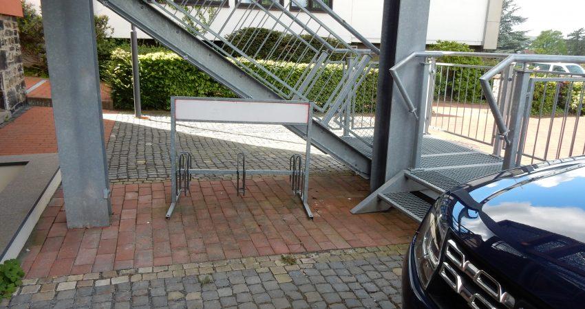 Radständer am Rathaus Obernkirchen